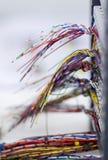 Elektrischer Draht Stockbild