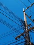 Elektrischer Draht/ein elektrischer Draht der Verwirrung Stockbild