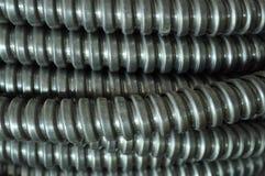 Elektrischer Draht-Rolle Stockfotos