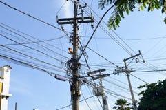 Elektrischer Einbau Stockfotos