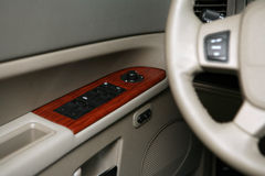 Elektrischer Fensterschalter des Autos Lizenzfreie Stockfotos