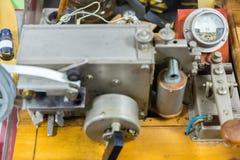 Elektrischer Fernschreiber Morse Stockfoto