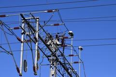Elektrischer Himmel Stockbild
