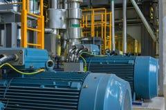 Elektrischer industrieller Generator Stockfoto