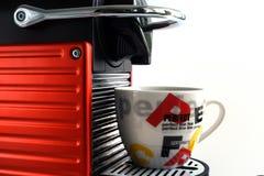 Elektrischer Kaffee Stockfotos