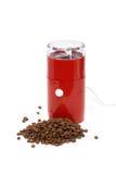 Elektrischer Kaffee-Schleifer lizenzfreie stockfotos