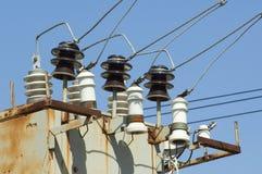 Elektrischer Kasten Stockbild