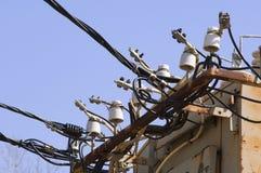 Elektrischer Kasten Stockfoto