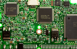 Elektrischer Kreisläuf lizenzfreie stockbilder