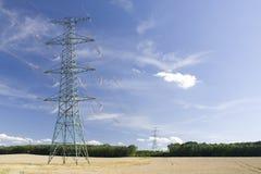 Elektrischer Leiter stockfoto