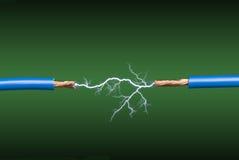 Elektrischer Lichtbogen Stockfotos