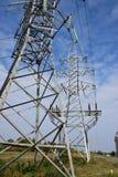 Elektrischer Mast Stockbild