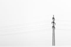 Elektrischer Pfosten Lizenzfreies Stockfoto