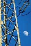 Elektrischer Pfosten Stockfotografie
