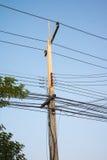 Elektrischer Pfosten Stockfotos