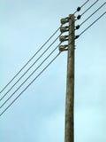 Elektrischer Pfosten Lizenzfreie Stockbilder