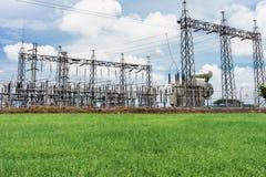 Elektrischer Plan und Reis Lizenzfreies Stockbild