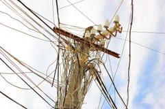 Elektrischer Pol Lizenzfreies Stockfoto