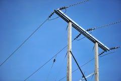 Elektrischer Pol Stockfoto