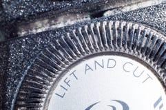 Elektrischer Rasierapparat getrennt Lizenzfreies Stockfoto