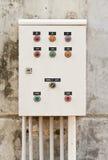 Elektrischer Schaltschrank. Stockfotos