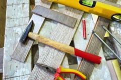 Elektrischer Schleifer f?r das Arbeiten an Holz Die Diskette mit den Z?hnen macht es einfach, Holz von zu schneiden erfordert stockbild