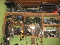 Elektrischer Shop Lizenzfreies Stockbild