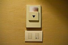elektrischer Stecker ist die Technologie für Stromversorgung in Hauptgebrauch 2 Stockfotografie