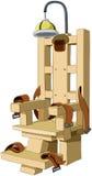 Elektrischer Stuhl stock abbildung