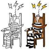 Elektrischer Stuhl vektor abbildung