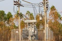 Elektrischer Transformator Stockbilder