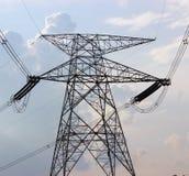 Elektrischer Transformator Stockfoto