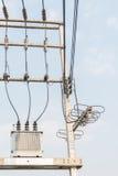 Elektrischer Transformator Stockfotos