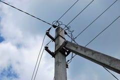Elektrischer Verteiler stockfotografie