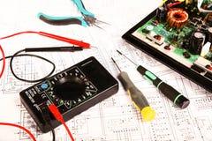 Elektrischer Vorstand Lizenzfreie Stockbilder