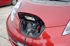 Elektrisches Auto Stockfoto