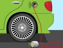 Elektrisches Auto Lizenzfreie Stockfotografie