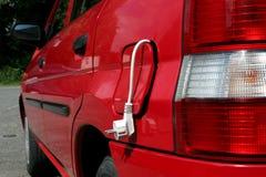 Elektrisches Auto lizenzfreies stockfoto