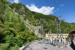 Elektrisches Elektrizitätswerk Lizenzfreie Stockfotos