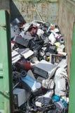 Elektrisches gestapelt für Müllgrube Lizenzfreie Stockfotografie