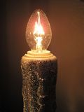 Elektrisches Glühen Stockfoto