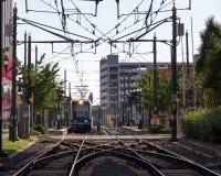 Elektrisches Gleis Stockfotografie