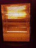 Elektrisches Haus der Ofenheizung lizenzfreies stockfoto