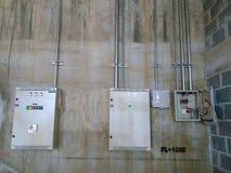 Elektrisches Kastensystem lizenzfreie stockfotos
