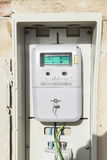 Elektrisches Messinstrument Stockfoto