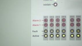 Elektrisches Messinstrument stock video footage