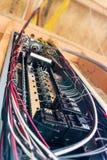 Elektrisches Panel lizenzfreie stockfotografie