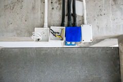 Elektrisches Rohr Stockfotografie