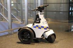 Elektrisches Rollermotorrad Peugeot-Geopolis stockfotos