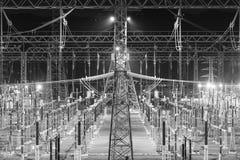 Elektrisches Schalteryard Lizenzfreie Stockfotografie